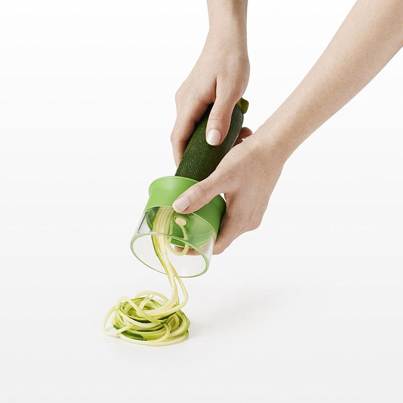 Hot Selling Newest Kitchen Products stainless steel industrial spiral vegetable and fruit slicer