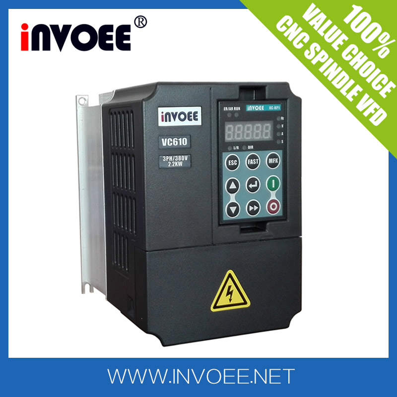 China Top one CNC spindle VFD brand vector ac motor drive price