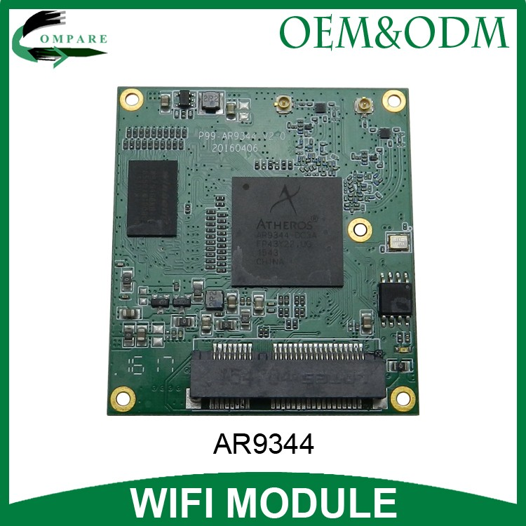 dual band 5.8G 2.4G router wifi openwrt ar9344 atheros wireless module