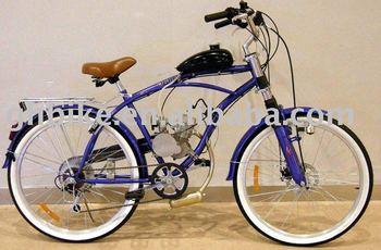 "26""motor gas bicycle,beach cruiser bike,bicycle,bike"