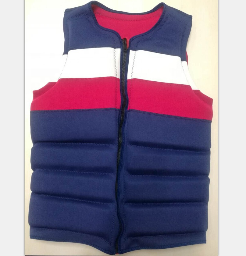 Wholesale water sports swimwear personal life jacket marine flotation device