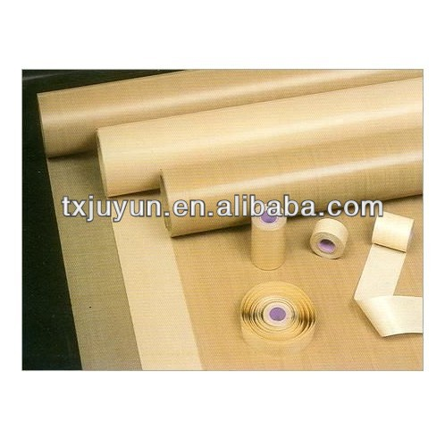 PTFE Woven Glass Cloth Fabric Heat Seal Tape Adhesive Backed Teflon Vacuum ROLL