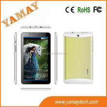 Phablet supplier 7 inch MTK tablet pc android 4.2 with two camera