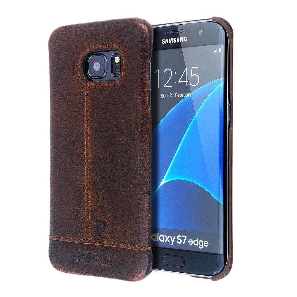 size 40 8a00a df598 Buy Galaxy Note 5 Case, Pierre Cardin Paris Premium Genuine Cow ...