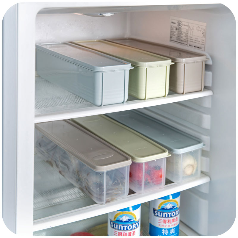 Japanese style noodle kitchen refrigerator box lid plastic ...
