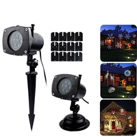 12 Pattern LED Projection Light for Christmas Birthday Party Halloween Holiday