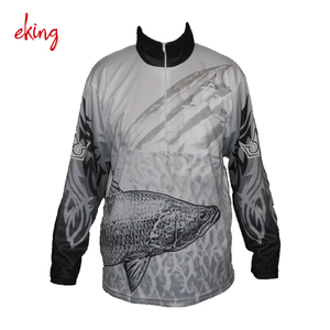 OEM Custom blank fishing tournament shirts long sleeve jersey
