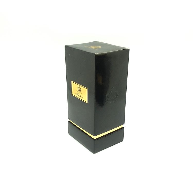 Groothandel Custom CMYK Gedrukt Kleurrijke Karton Lege Hoed Parfum Cosmetische Verpakking gift papier Doos