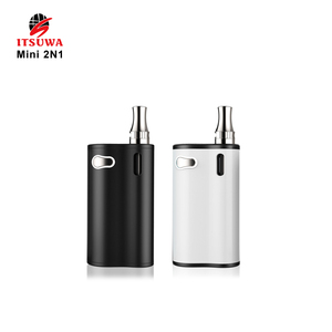 Itsuwa 2018 Mini 2n1 E-vape battery Vapor Starter Kits 1000mAh 510Thread Preheating Vape Pen Battery