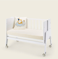 Sophia convertible baby playpen bed wooden baby crib sleeping bed cot for toddler