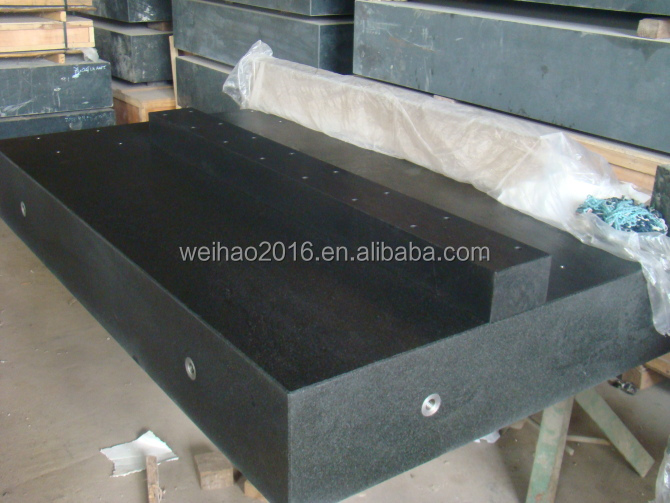 inspection and measurement granite surface plate base plate