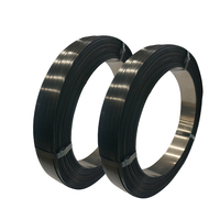 golden supplier 19 mm painted waxed steel strapping band