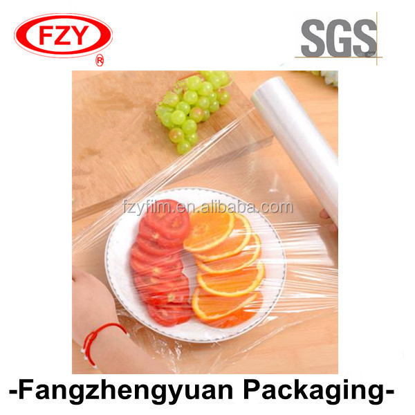Factory Price Soft Food Grade PE Cling Film with Slider Cutter Box