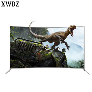 Smart 4K android tv Hot Buy Bulk Electronics Competitive Price Curved Tv 4K 55 Inch Wholesale Made In China