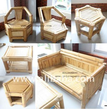 Bamboo Sofa - Bamboo Furniture - Sofa Bed - Corner Sofa - Arm Chair: - Buy  Bamboo Sofa/table/seagrass/palm Leaf/white Buong Leaf/coconut/thacth Roof  ...