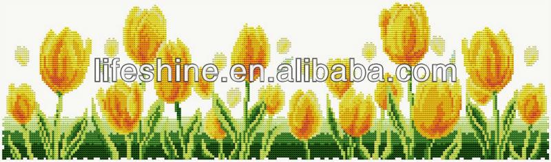 Tulip Chinese Cross Stitch Patterns,Counted Cross Stitch Sets ...