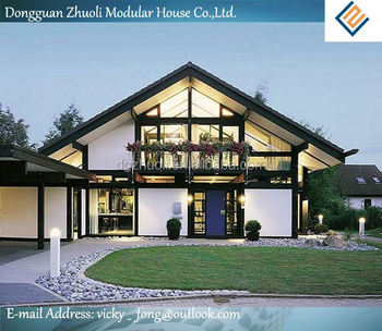 Modular prefab home kit price low cost prefab villa design for Low cost house kits