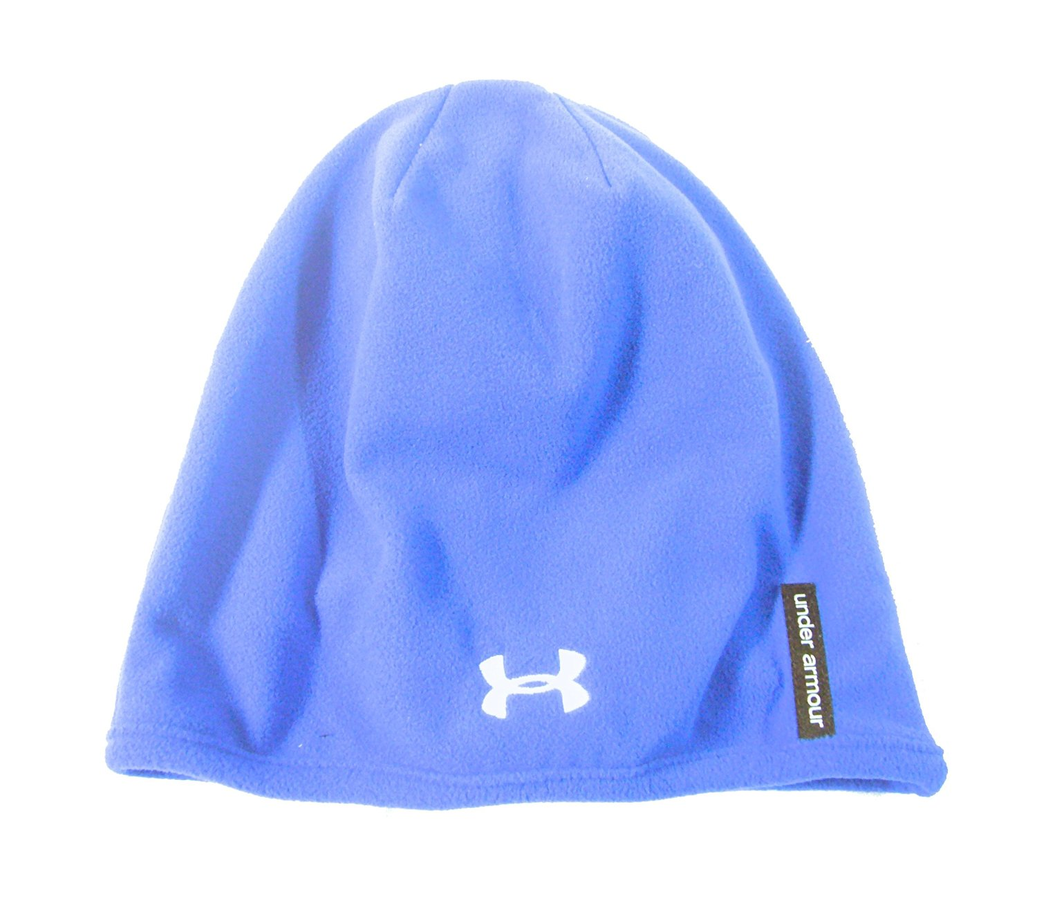 0c50139f4c3 Buy NEW Under Armour Micro Fleece Blustery Royal Blue White Beanie ...