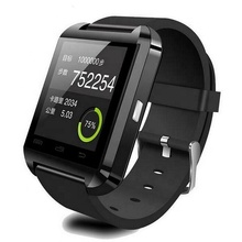Hot Koop Bluetooth Fitness reloj U8 Smart Horloge Mobiele Telefoons SmartWatch Ondersteuning IOS Android <span class=keywords><strong>Touch</strong></span> Screen