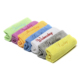 Soft hand feel kitchen table wiping rag with embroid wash drying towel microfiber cleaning dish cloth