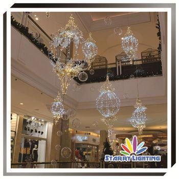 Decoration Indoor Hanging Light Shopping Mall Decoration - Buy ...