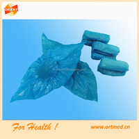 PE non-woven disposable shoe cover for daily life