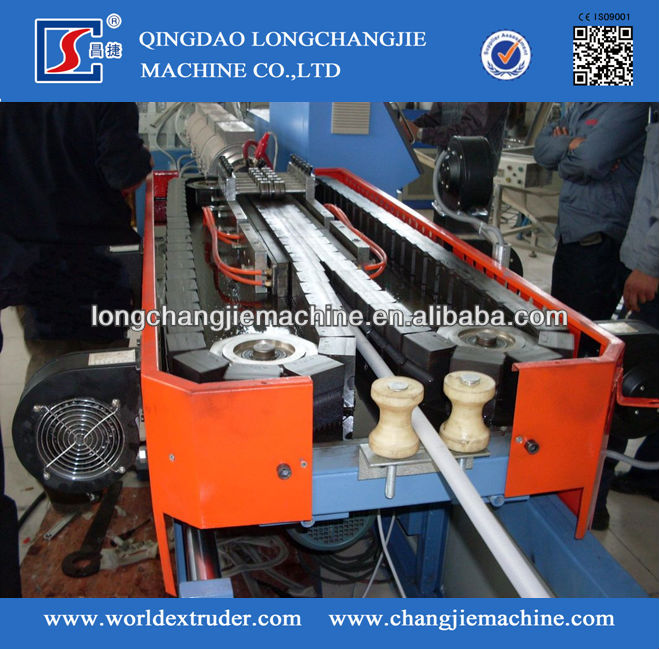 single wall corrugation pipe extrusion/single wall corrugated pipe extrusion line/PE Single Wall Corrugated Pipe Machine pe sing