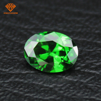 3*5mm to 15*20mm machine cut emerald cubic zirconia lab created loose gemstone for diamond
