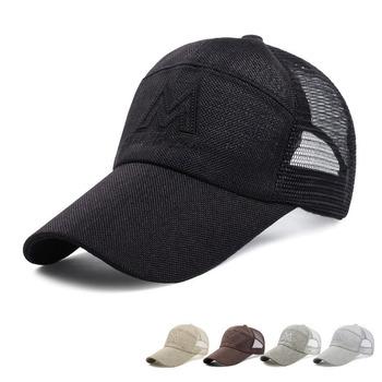Verano gorra de béisbol bordado de malla gorra sombreros para hombres y  mujeres Gorras Hombre sombreros 7616a2aa2b6