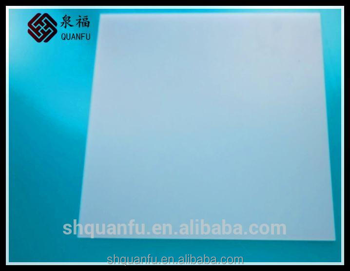 1.0mm-15mm solid polycarbonate sheet abrasion resistant high impact
