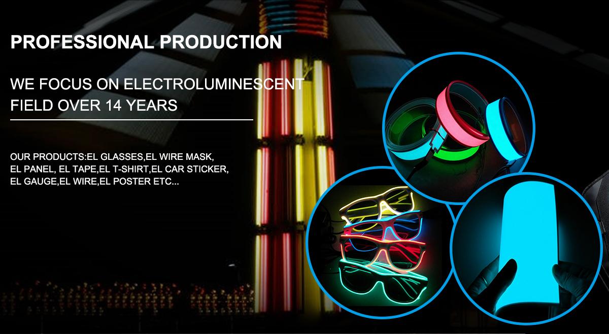 Shenzhen Obang Photoelectric Co., Ltd. - EL Panel, EL T-shirt