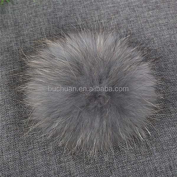 Raccoon Fur pompon