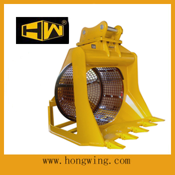 Screening Bucket Excavator Attachments Excavator Screening Bucket View larger image excavator screening bucket