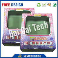 China wholesale top quality eco-friendly transparent clear plastic jewelry box
