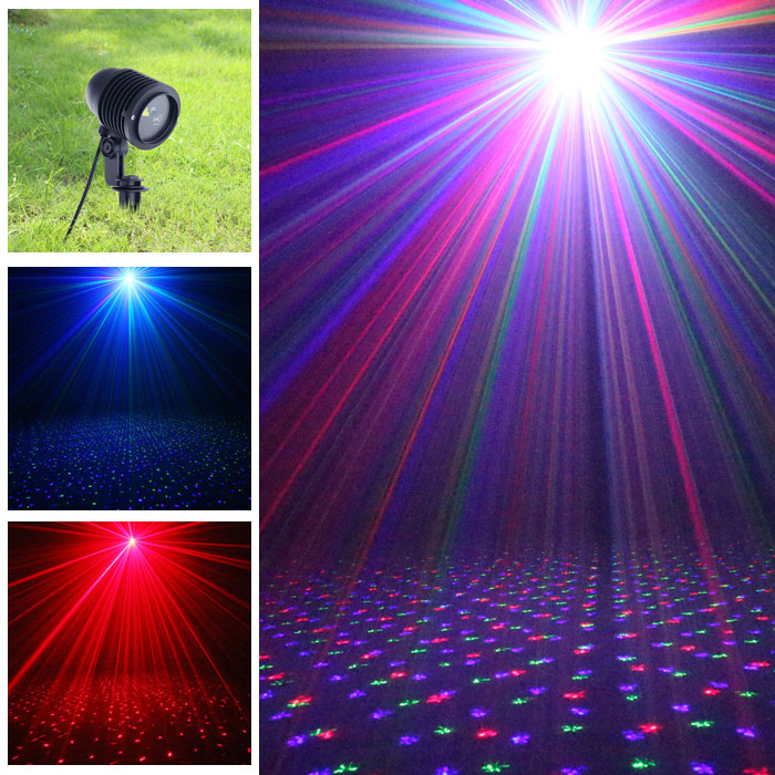 Laser Christmas Projector RGB Red Green Blue Mixer Moving ...