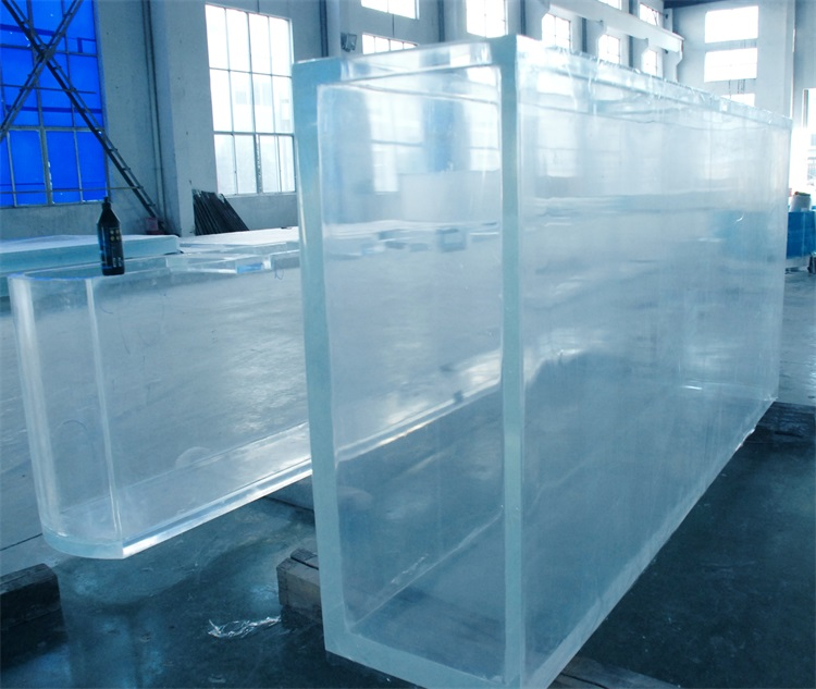 acrylic aquarium of submarine world project