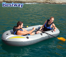 Bestway cheap pvc hovercraft inflatable 3 person touring sea kayak boat