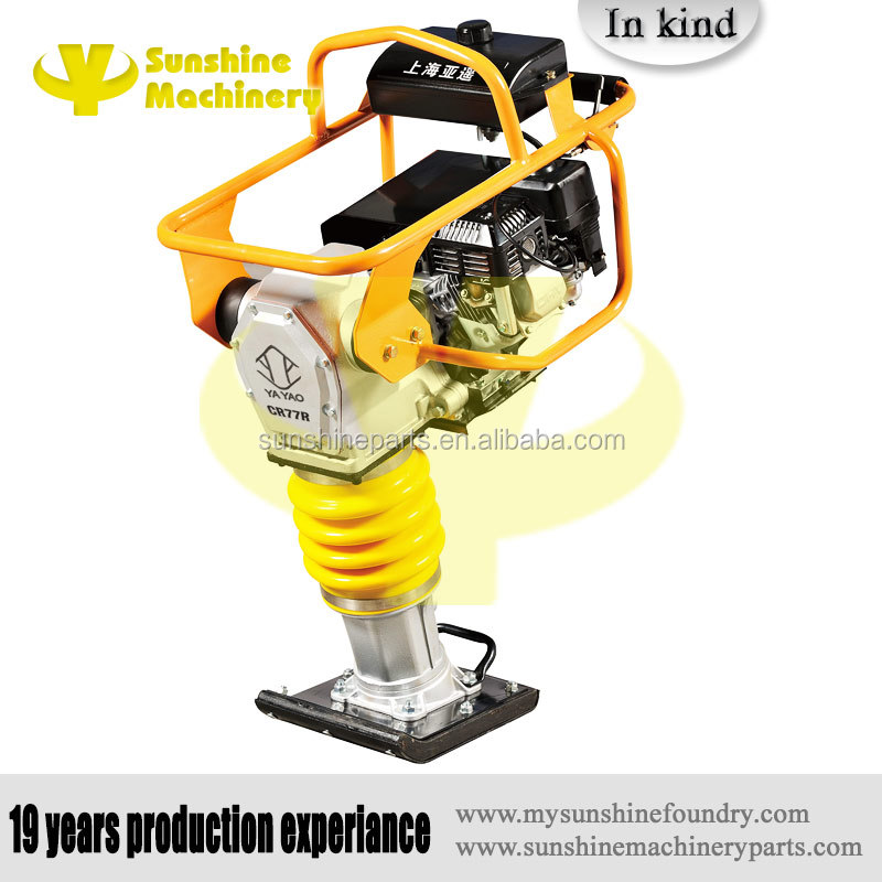 Multiquip Durable Gasoline/Diesel Soil Vibration Impact Tamping Rammer powered by Honda/Subaru,sunshine machinery foundry