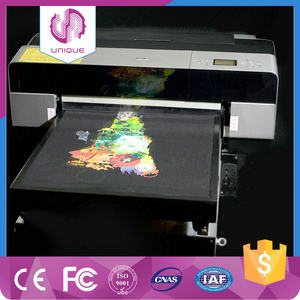 Newest flatbed printer A2 A3 digital t-shirt