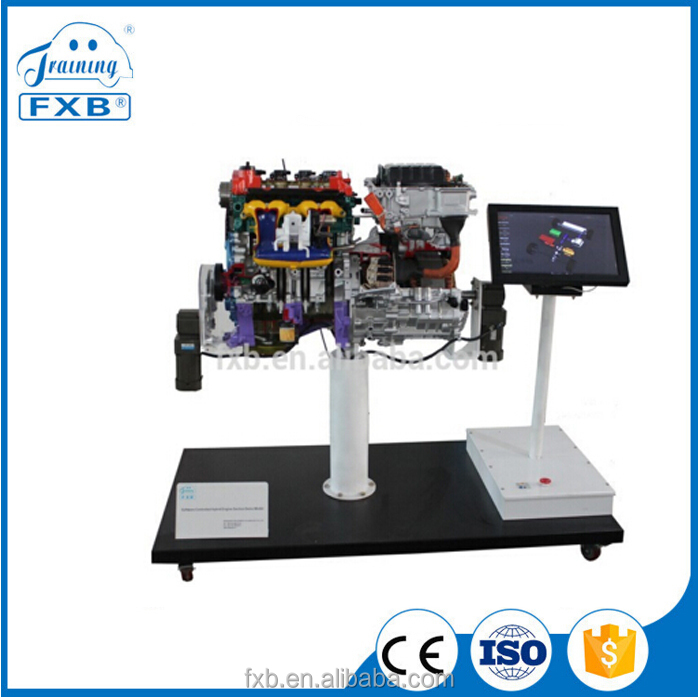 Software Controlled Prius Hybrid system cutaway anatomical Model, automotive training equipment, auto parts, car accessories