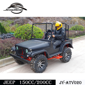 Super 200cc Or 150cc Off Road Petrol Mini Willys Jeep For Kids With Ce GO-42