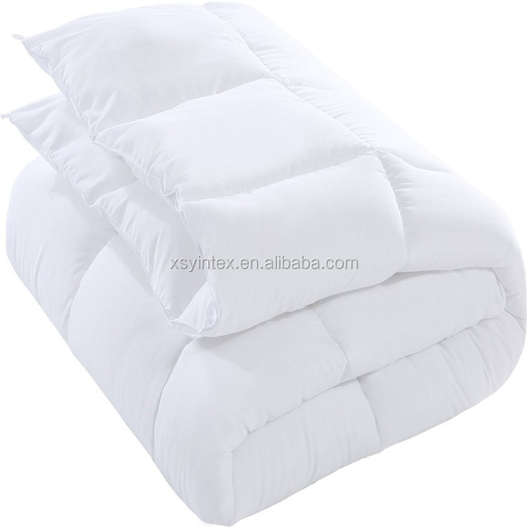 Embossed super soft duvet quilt with polyester filling