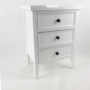 YCS18619 french style bedside cabinet with drawers mirrored bedside cabinet mirrored nightstand with 3 drawers