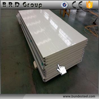 Gunstige Farbe Stahlblech Zaun Pu Sandwichplatte Buy Farbe Stahl