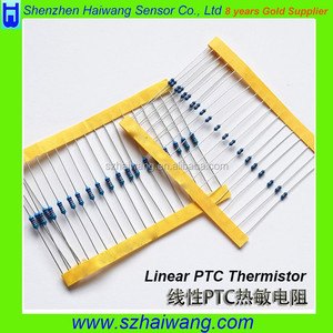 1k Ohm 3000ppm Temperature linear PTC Thermoter Resistance thermistor