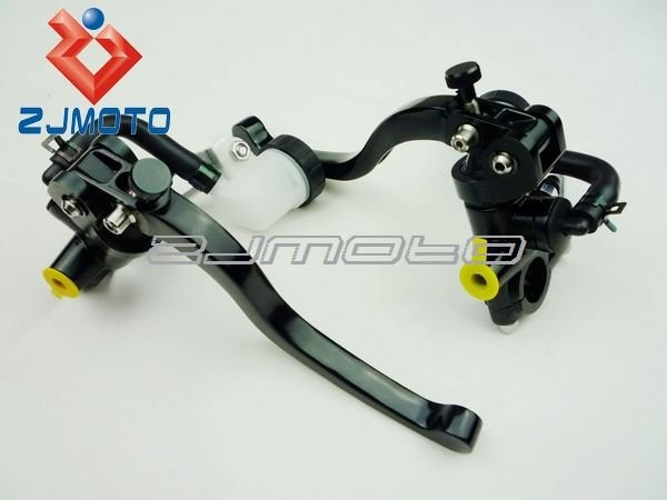 Motorcycles Forged Clutches & Brake Master Cylinder With Hydraulic Clutches & moto Brake And Adjustable Lever for Left and Right