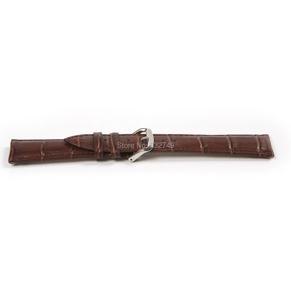 1 шт. воловья кожа кожи кожа текстуры часы ремень замена до запястья лента ремешок для часов