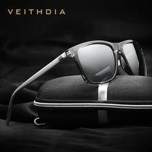 VEITHDIA Brand Unisex Retro Aluminum TR90 font b Sunglasses b font Polarized Lens Vintage Eyewear Accessories
