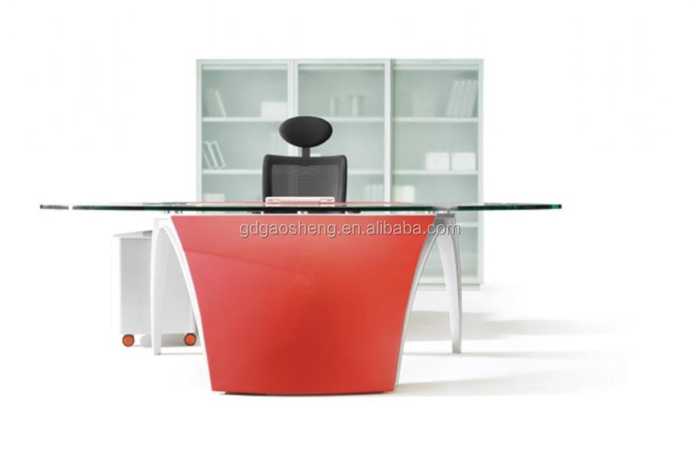Moderne glas bureau executive bureau tj018a1 kantoortafels product id 60580033812 - Moderne kantoorbureaus ...