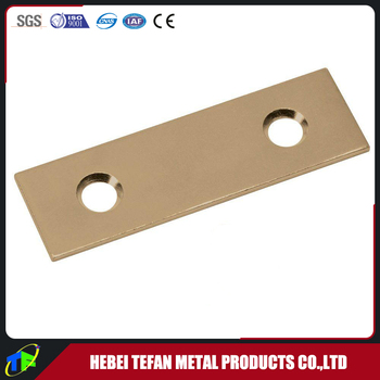 Smooth Satin Brass Flat Square Mending Plate for Seam Joints Crack  sc 1 st  Alibaba & Smooth Satin Brass Flat Square Mending Plate For Seam Joints Crack ...